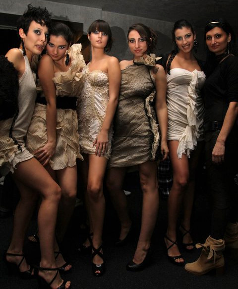 (R)Evolutions - show of fashion graduates from NEW BULGARIAN UNIVERSITY