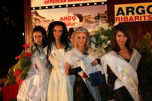 Ustata As VIP Guest of Miss Argo Ribaritsa 2011