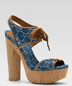 Spring trend – wedges for fashion combinations