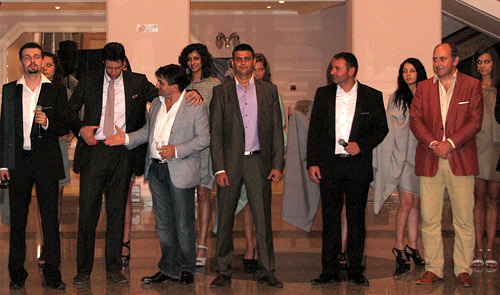 Italian fabrics for men's suits were presented in Ruse