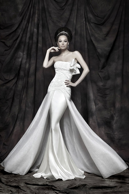 Bridal dresses 2011 collection by Atelier Simon