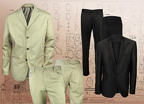 Elegant men's fashion for spring-summer 2011 by Styler