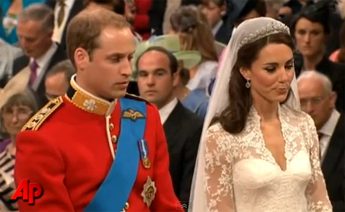 Prince William and Kate Middleton are now married