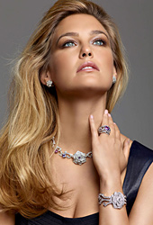 Bar Rafaeli is the new face of Piaget Rose Jewelry Collection