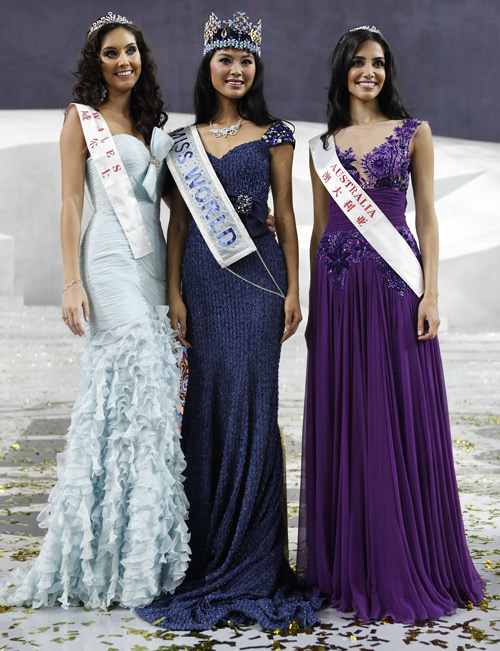 Miss China is the new Miss World 2012
