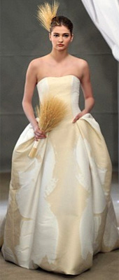 Carolina Herrera presented her bridal collection for 2013
