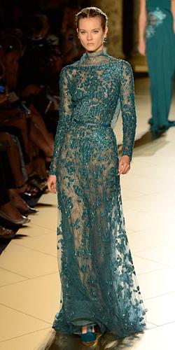 Разкош и женственост в една приказка на Ели Сааб - колекция Haute-Couture есен-зима 2012-2013