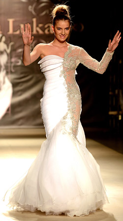 Bridal dresses from Skopje Fashion Week