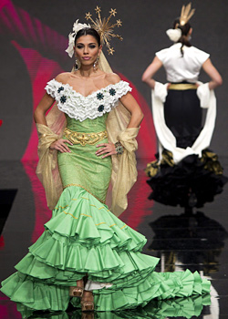 International Flamenco Fashion Show 2012 in Seville