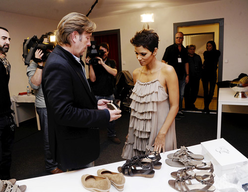 Halle Berry designed her first shoe collection