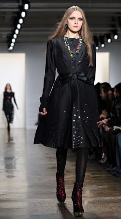 Mercedes-Benz Fashion Week New York presents collections Autumn-Winter 2012-2013