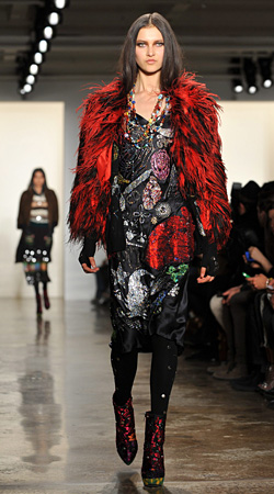 Mercedes-Benz Fashion Week New York presents collections Autumn-Winter 2012-2013