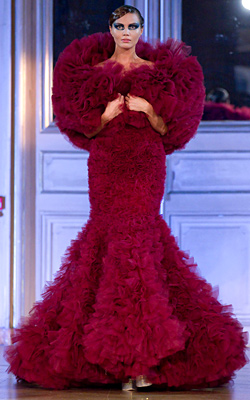 Haute Couture Fall-Winter 2012-2013 at the Paris Fashion Week