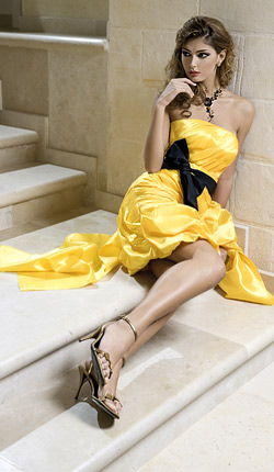 Prom dresses 2012 from salon Mon Amour
