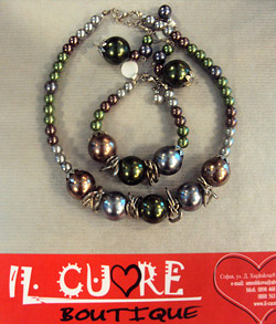 Unique jewelry by boutique Il Cuore