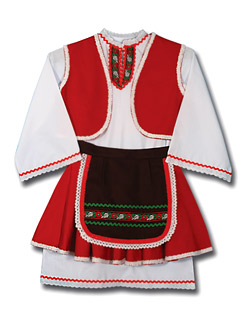 Bulgarian folklore costumes and uniforms by Meli-M
