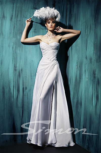 Bridal gowns by Atelier Simon for Summer 2012