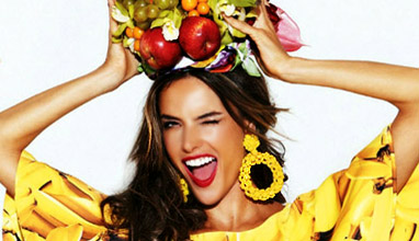 Alessandra Ambrosio for Glamour