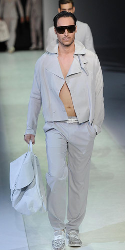 Armani's collection for Spring/Summer 2014