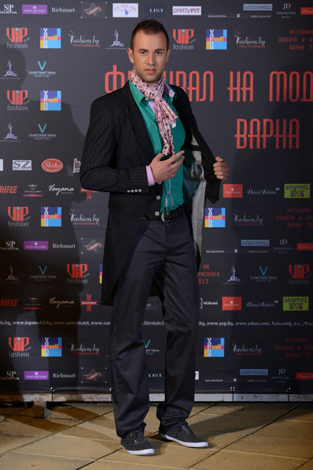 Festival of Fashion and Beauty 2013 presented Bulgarian fashion house 'Banderol'