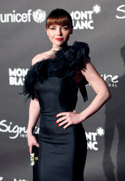 Christina Ricci is inspired by the style of her mother