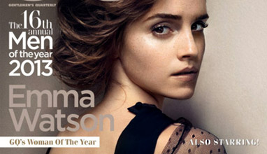 Emma Watson at the GQ's cover