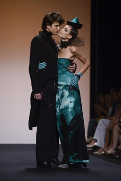 Jean Paul Gaultier at Alta Roma in Italy