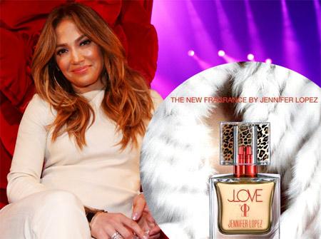 JLove - the 20th fragrance of Jennifer Lopez