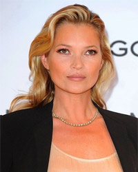 Kate Moss as a part of editor's team