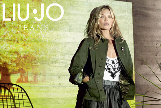 Kate Moss for Liu Jo Autumn/Winter 2013-2014