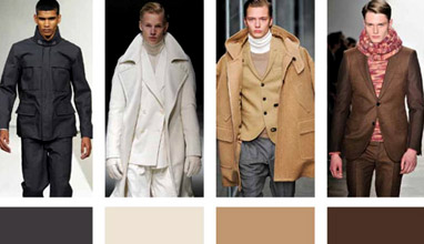 The colors for Fall/Winter 2013-2014