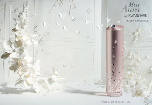 Swarovski's new parfume in September