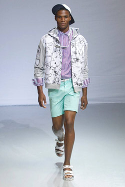 Frankie Morello with Spring/Summer 2014 Collection
