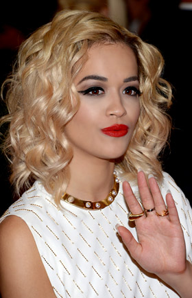 R&B singer Rita Ora is the new face of Madonna's 'Material Girl' fashion line