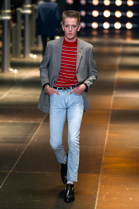 Saint Laurent Men's Spring/Summer 2014