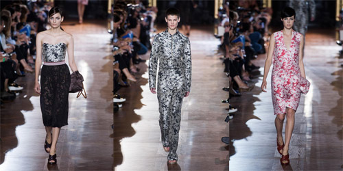 Stella McCartney presented Spring/Summer 2014 during Paris Fashion Week
