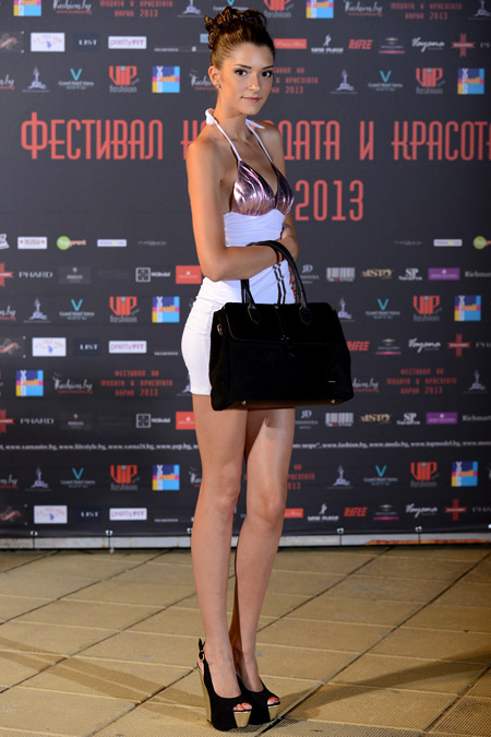 Sara Pen's Summer 2013 collection was shown during the Festival of Fashion and Beauty 2013