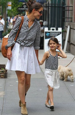 Suri Cruise and Harper Beckham are fashion icons