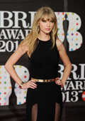Taylor Swift does not follow the fashion trends