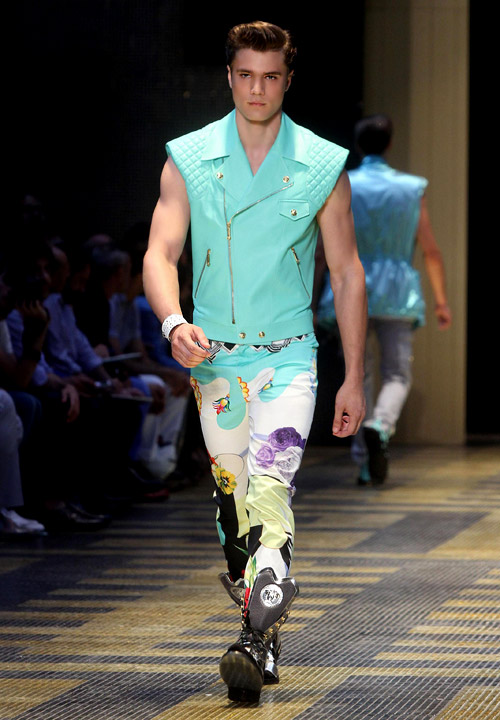 Men's fashion: Versace Spring-Summer 2013 collection