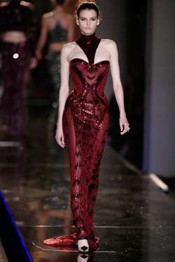 Haute Couture women's collection Fall/ Winter 2014 by Versace