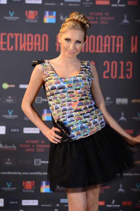 Summer 2013 collection by 'Veteida' during the Festival of Fashion and Beauty 2013