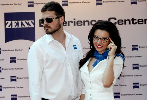 World famous sunglasses brands presented at Zeiss Experience Center, Sofia