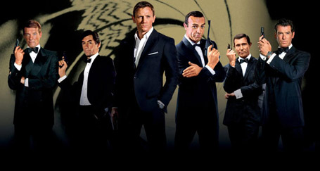 Canadian fashion house make suits in the style of James Bond