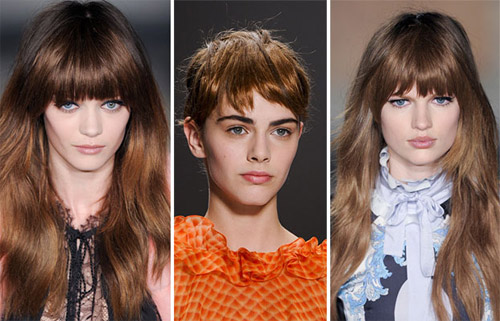 Hairstyle trends for Fall/Winter 2013-2014