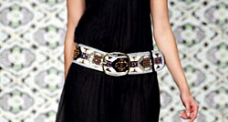 Women's belts fashion trends for Summer 2013