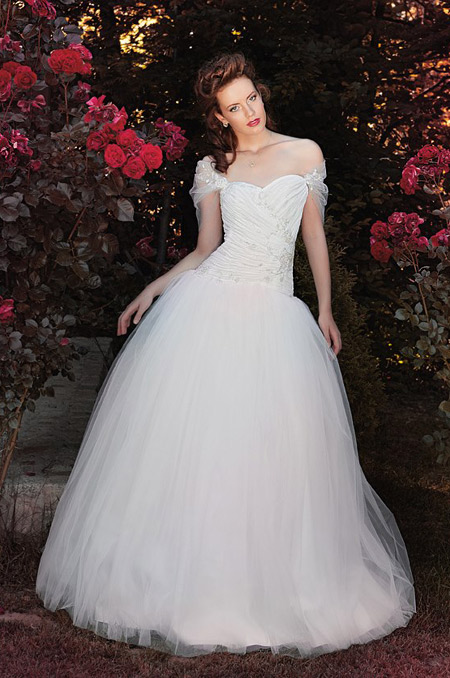 Grace and glory in Mon Amour's new collection of wedding dresses