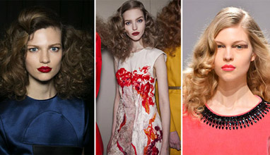 The trends of hair for Fall/Winter 2013-2014