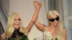 Lady Gaga dedicated a song to Donatella Versace