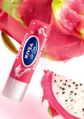 For soft fruity lips with the exotic aroma of Dragon Fruit
